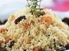 Salada de cuscus e frutas secas